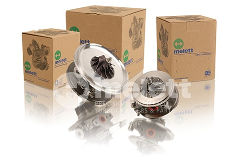 Melett parts used in quality remanufactured