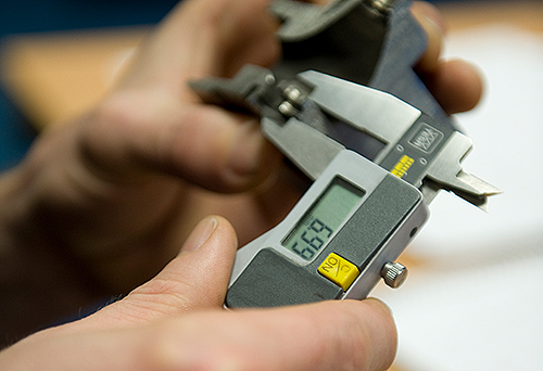 caliper measurement remanufacturing