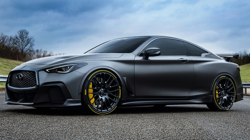 Infiniti is to bring an F1-style hybrid turbo set up to the