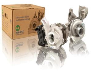 Melett turbos with Melett boxes
