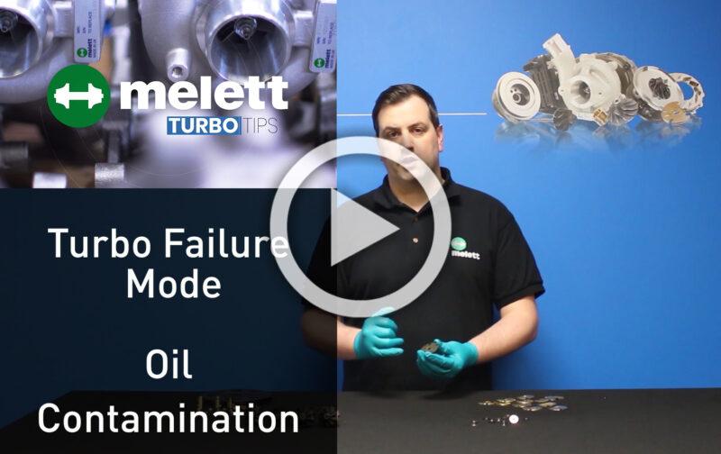 Why do turbos fail - oil contamination