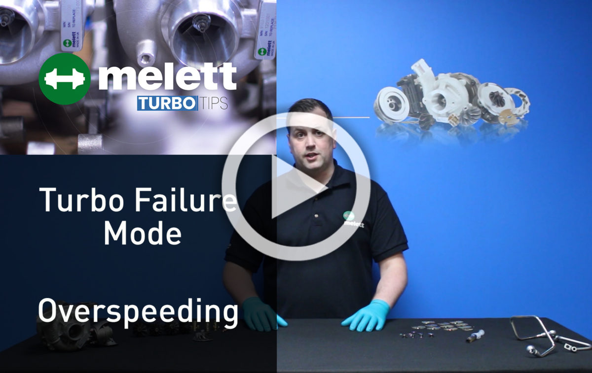 How does Overspeeding cause turbocharger failure? 🎥